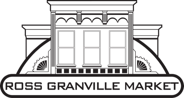 A theme logo of Ross Granville Market